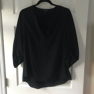 The Limited black blouse with 3/4 length sleeves!